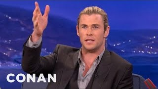 Chris Hemsworth On The Ups & Downs Of Portraying Thor - CONAN on TBS