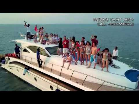 Yacht Party in Pattaya  Pattaya Boat Hire  Party on boat in Pattaya  Rent yacht or catamaran