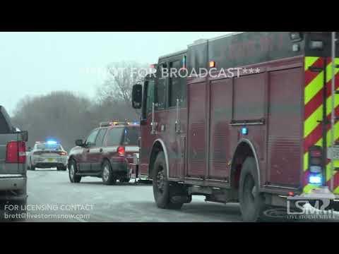 1-20-2019 Des Moines, Iowa - Numerous Car Accidents