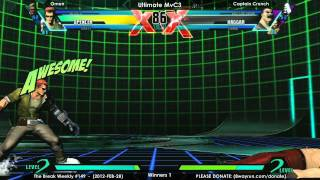 The Break #149 - UMvC3 W1 - Omen VS Captain Crunch