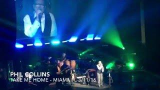 Phil Collins - Take Me Home - March 11, 2016 - Miami, FL Little Dreams Foundation Gala