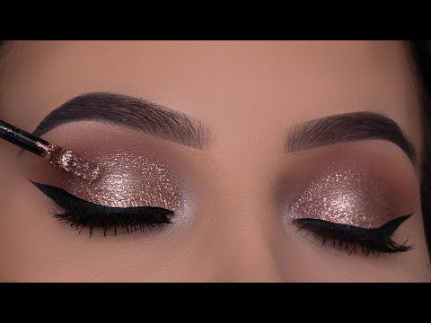 Classic Bronze Eye Makeup Tutorial | Perfect Holiday Eye Makeup thumbnail