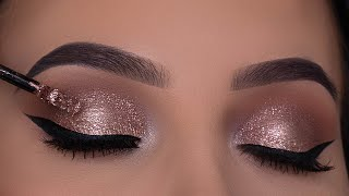 Classic Bronze Eye Makeup Tutorial | Perfect Holiday Eye Makeup