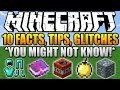 ✔ 10 Facts, Tips, Glitches, Things You Didn't Know About Minecraft (Part 3)