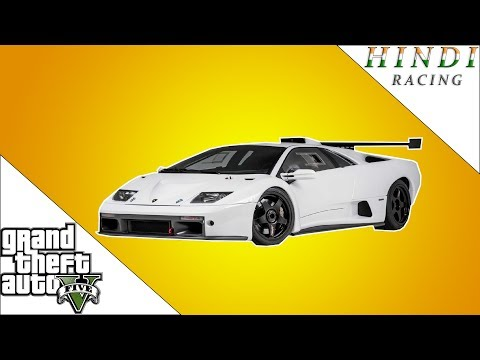 GTA 5 RACING LAMBORGHINI DIABLO HINDI #78