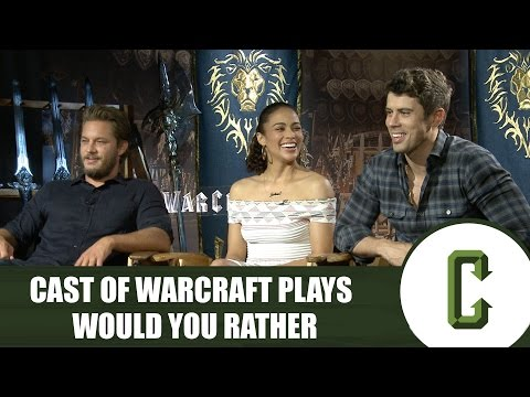 'Warcraft' Cast Plays Would You Rather