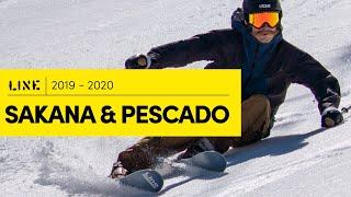 LINE 2019/2020 Sakana And Pescado Skis – Shaped Like Nothing Else