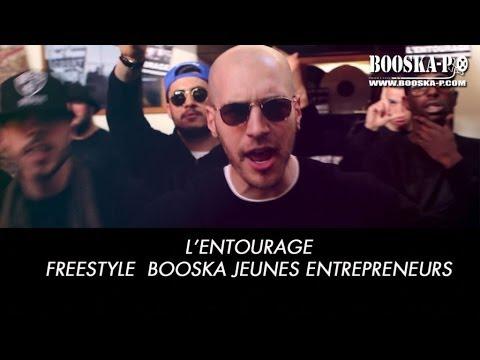 Youtube: L'Entourage [Freestyle Booska-Jeunes Entrepreneurs]