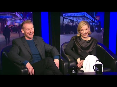 "Theater Talk: Cate Blanchett and Richard Roxburgh in ""The Present"""