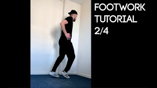 Footwork Tutorial 2/4 - Moonwalk