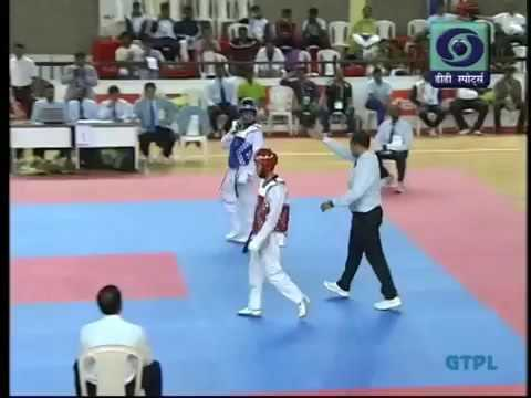 India's best Matches ever of Taekwondo from National Games