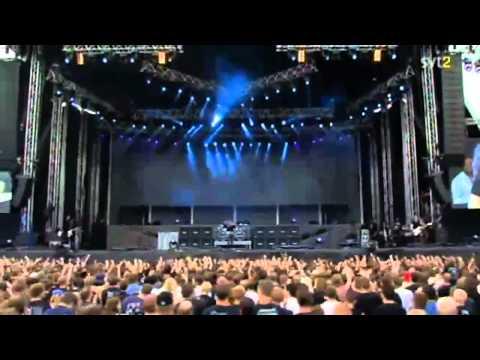 The Big 4 - Megadeth - Symphony Of Destruction Live Sweden July 3 2011 HD