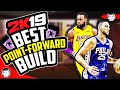 Download NBA 2K19: THE GREATEST POINT FORWARD BUILD AFTER PATCH 4