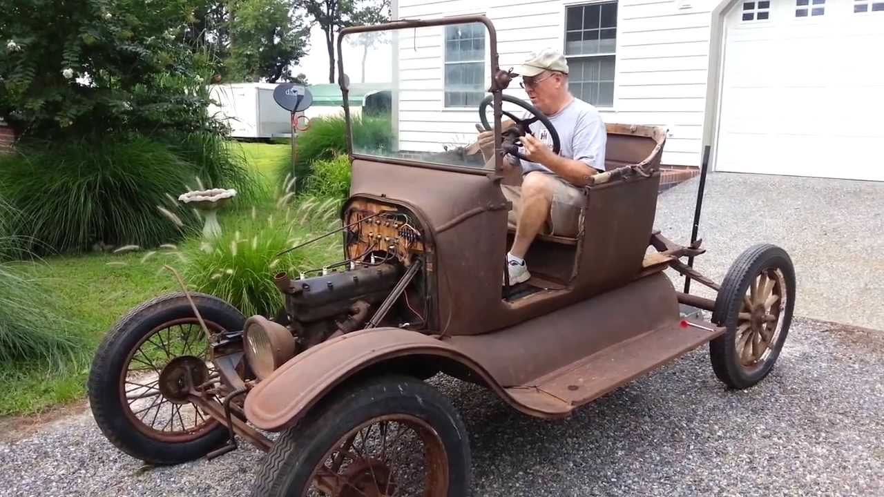 Model T Ford Starts After 60 Years Youtube