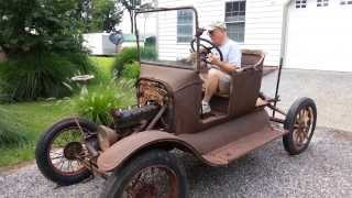 Model T Ford Starts after 60+ years thumbnail