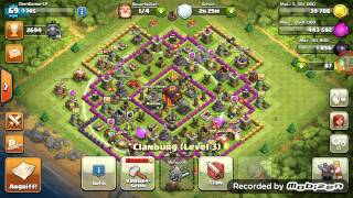 Clash of Clans Let's Play #9 Bester Clan Krieg