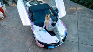 Paris Hilton Pimps Her Ride