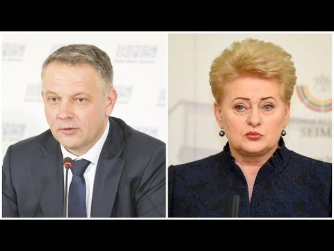Eligijus Masiulis prakalbo apie Dalios Grybauskaitės laiškus