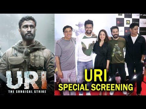Uri Movie Special Screening | Vicky Kaushal, Mohit Raina, Yami Gautam, Ronnie Screwvala