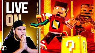 LIVESTREAM: MINECRAFT & FORTNITE | AM3NlC