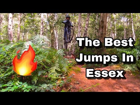 THE BEST MTB JUMPS IN ESSEX (FAST AND BIG)