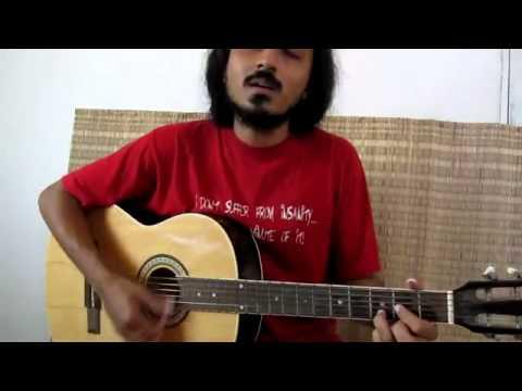 njan gandharvandevaanganangal vocal guitarmalayalam song unplugged