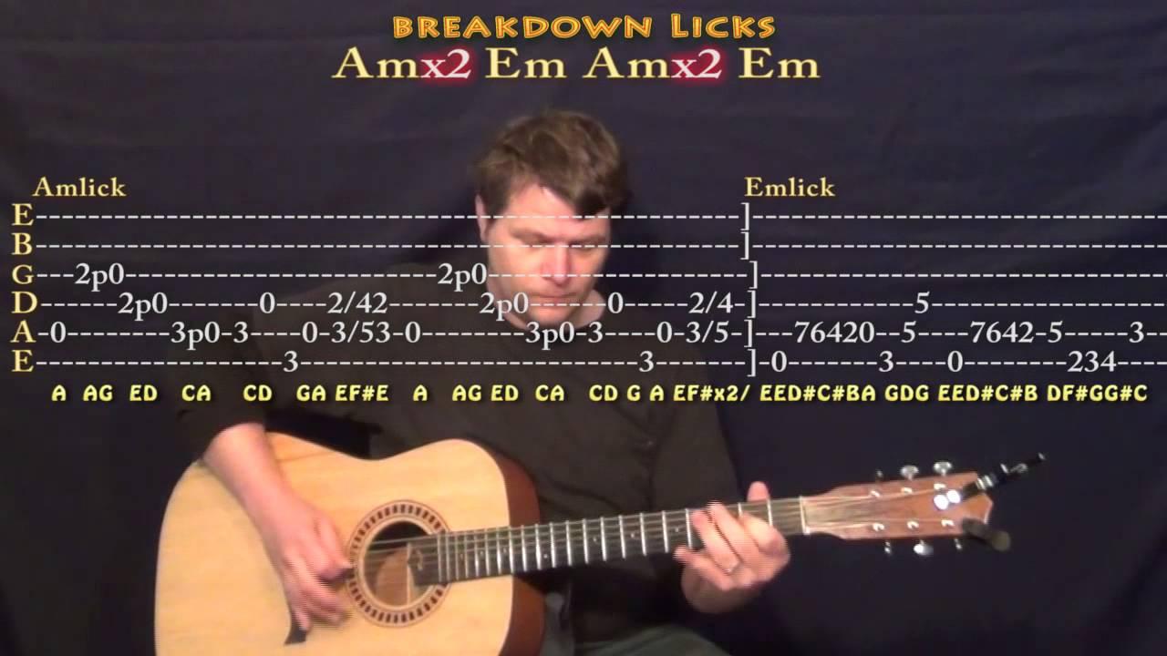 Carry On Our Wayward Son Kansas Guitar Lesson Chord Chart Youtube