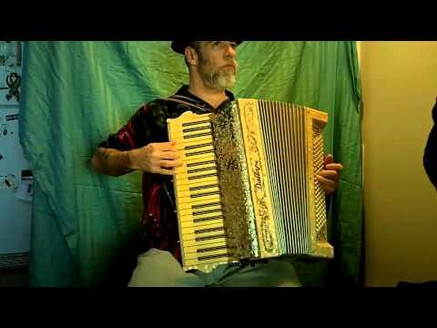 antique Dallape accordion
