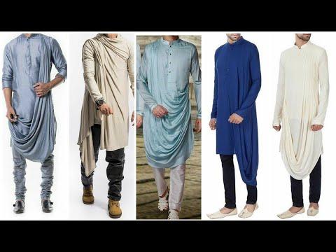 Best Festival Man Wear In India 2019 || Latest Cowl Kurta Pajama Design For Men