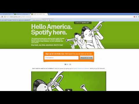 Get Spotify in US WITHOUT Invite For FREE