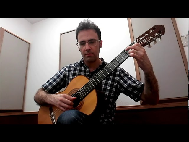 Intermediate Classical Guitar: Leccion 17 by Aguado (free score)