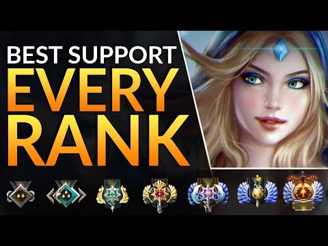 Top Support Heroes YOU MUST PLAY At Every Rank - Best Meta Tips To CARRY | Dota 2 Pro Guide