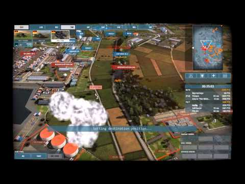 Wargame Airland Battle - New Map !!! gameplay ! Aarhus