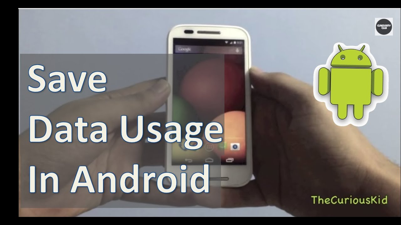 how to clean data usage in android phone