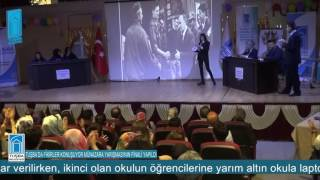 'TUŞBA'DA FİKİRLER KONUŞUYOR MÜNAZARA YARIŞMASI'NIN FİNALİ YAPILDI