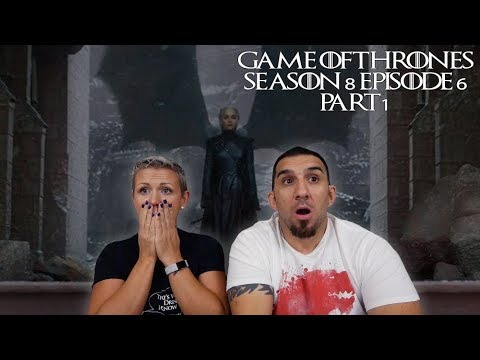 Game of Thrones Season 8 Episode 6 'The Iron Throne' Part 1 Finale REACTION!!