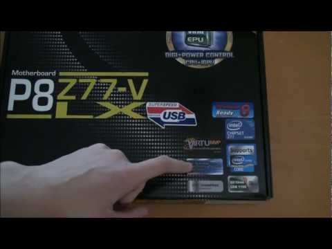 Asus P8Z77-V-LX | Unboxing And First Look #006 | TechEdgey231