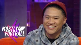 Wild'n Out's Tim DeLaGhetto Stops By To Act Up On An All-New MF Episode | Mostly Football