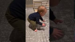 'Oh My God, Rose!': Baby Stands Independently for the First Time