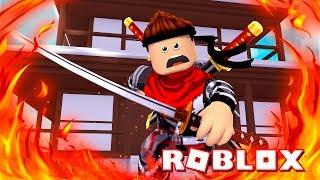 ROBLOX-I TURNED ein NINJA!!