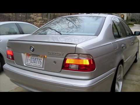 2002 BMW 525i Start Up, Engine, and In Depth Tour   YouTube
