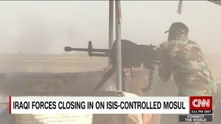 Iraqi forces closing in on ISIS-controlled Mosul