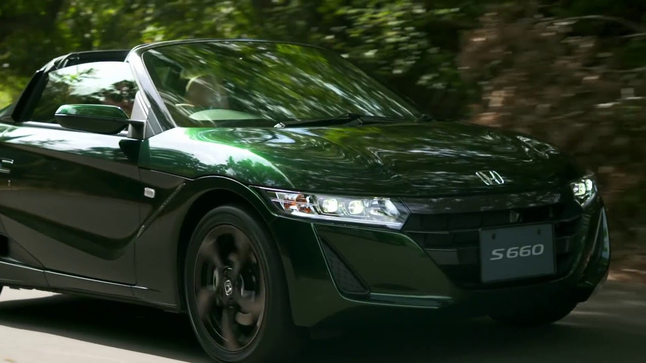 2019 Honda S660 Trad Leather Edition - Promotion Movie ...