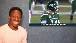 PATRIOTS DEFENSE HAS SAM DARNOLD SEEING GHOST!! Patriots vs. Jets Week 7 Highlights | NFL 2019