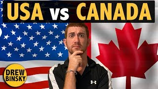 USA vs CANADA (Similarities & Differences)
