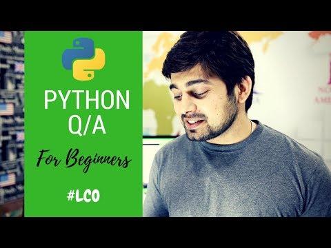Top 5 Python programming QA for beginners