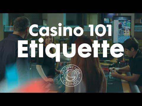 Casino Etiquette at Grosvenor Casinos