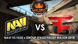 NAVI VS FAZE » [GROUP STAGE] FACEIT MAJOR 2018 HIGHLIGHTS!