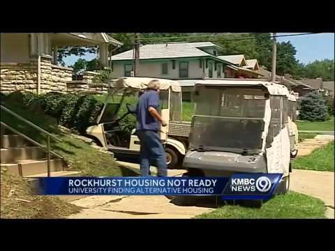 Some Rockhurst University student housing won't be ready for fall