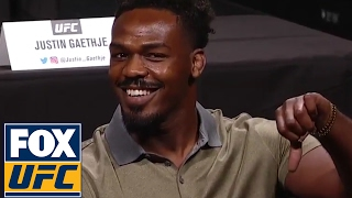 Daniel Cormier and Jon Jones trade insults at UFC Summer Kickoff Press Conference | UFC ON FOX